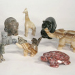Crystal Animals  - Come in all sizes and materials.