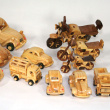 Wooden Vehicles - Various sizes.