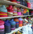 Excideuil Warehouse - A few wide-brimmed hats in stock