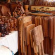 Wooden Sculptures and Furniture - Coum Market