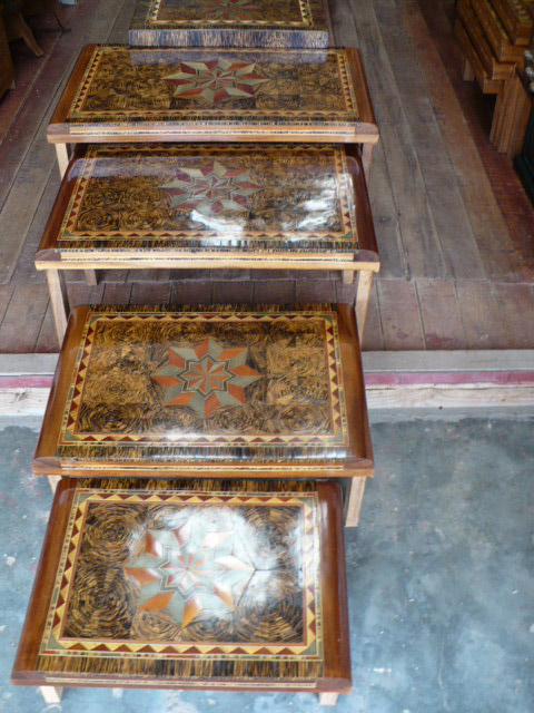 Marquetry Tables